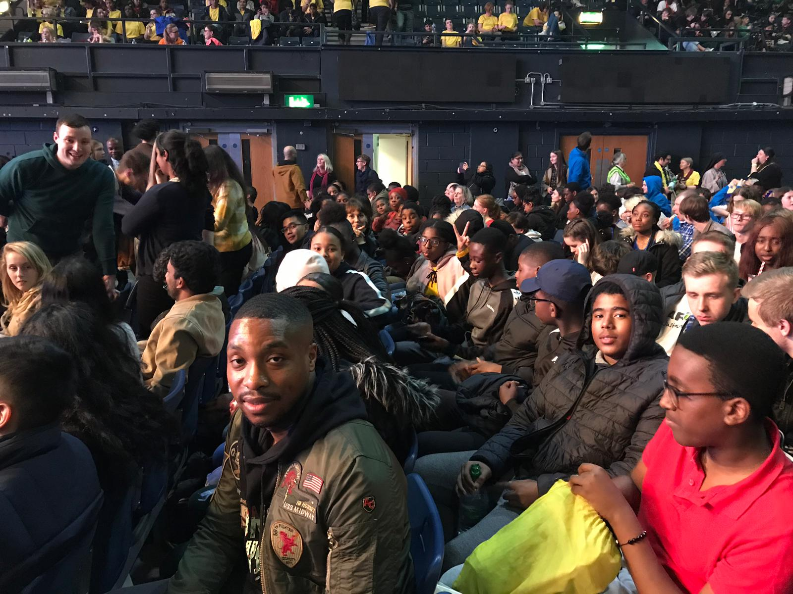 Our brilliant youth and their supporters at Flame 2019